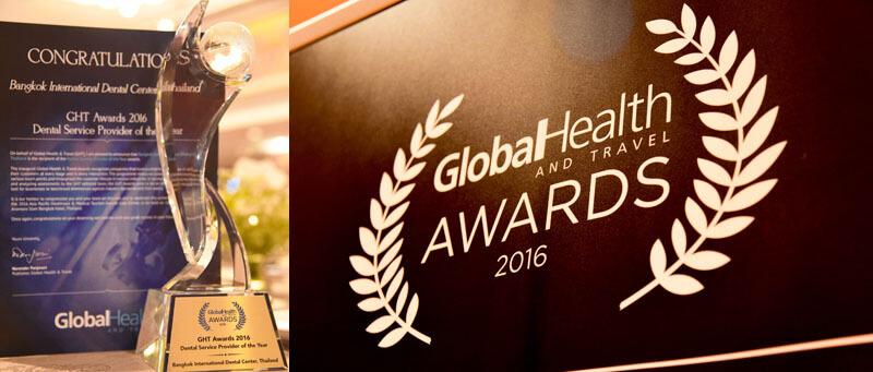 Gloabl health and travel award